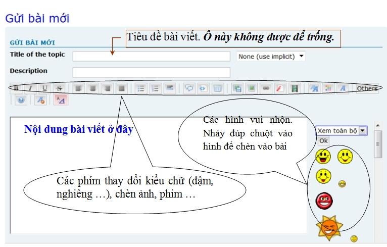 Cách viết bài (post topic) Vietba10